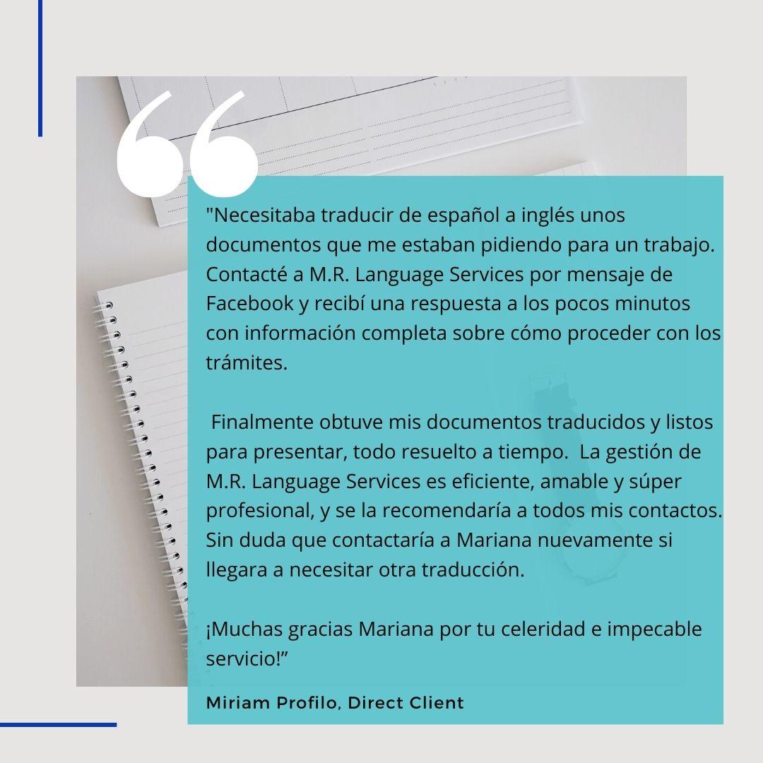 M.R. Language Services