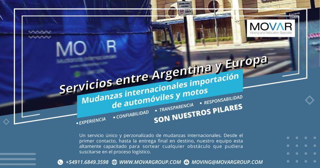 Movar Group - Mudanzas internacionales